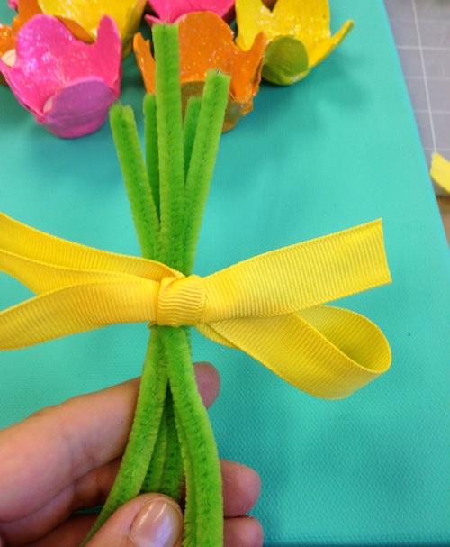 букет цветов поделки с детьми открытка мастер класс