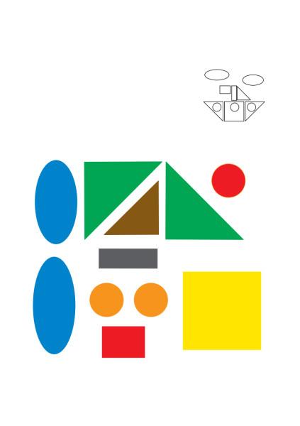 геометрические фигуры для детей 3 лет