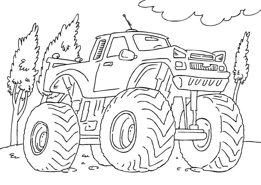 раскраски для мальчиков машины Tilli Willi Ru