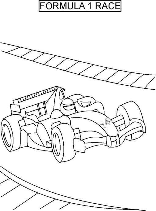 раскраски для мальчиков машины гоночные