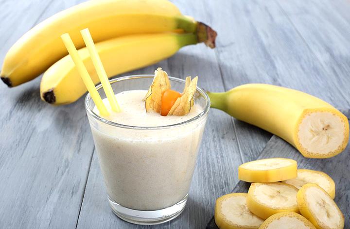 рецепты смузи банана йогуртом