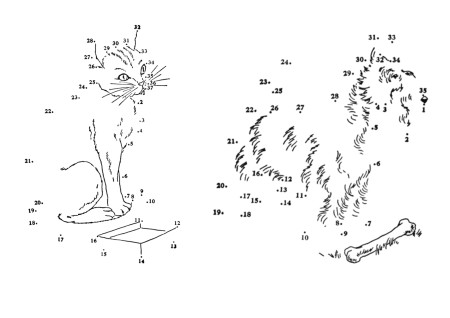 картинки рисование по точкам