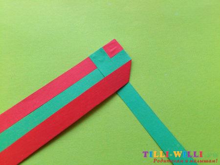 закладки косичка из бумаги