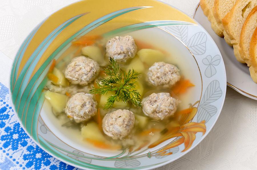 суп с фрикадельками рецепт для детей