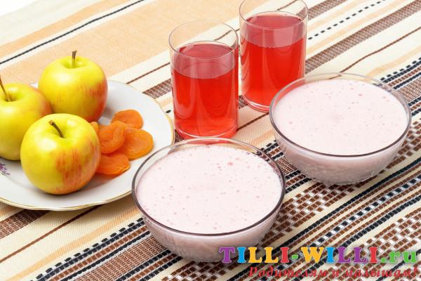 мусс фруктовый диетический рецепт