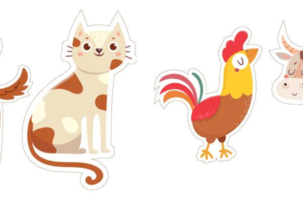 Дидактическая игра разрезные картинки с животными
