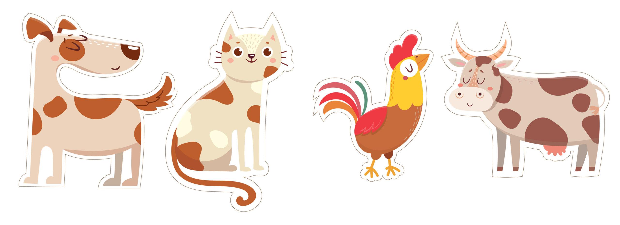 Дидактическая игра: разрезные картинки с животными