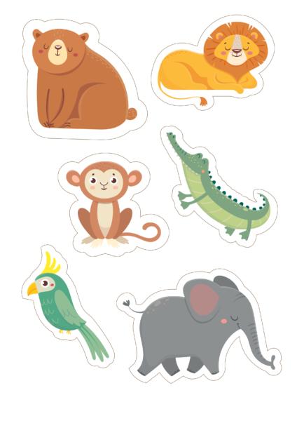 бесплатные картинки животных для детей